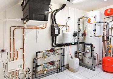 Монтаж оборудования в частном доме